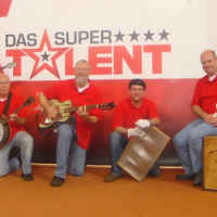 """The Old Boy Skiffle Coporation"" auf dem Brookhoff in Lüllau"